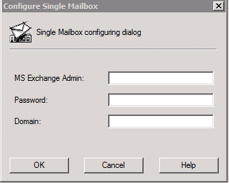 Creating/Installing an Exchange 2010 SP1 Single Mailbox Backup in