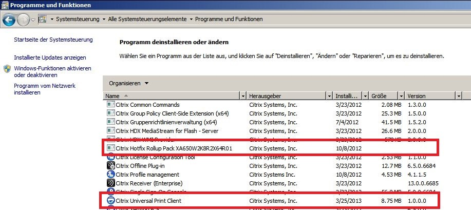 Printers not showing up in Citrix