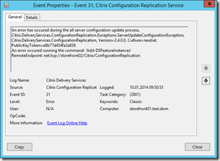 2014-01-10 09_51_27-storefront01 (24.4.21) on W2012-LENOVO - Virtual Machine Connection