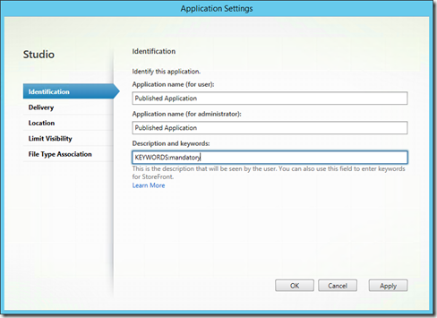 Auto Fill User Start Menu with Citrix Receiver 4 x | Jan Hendriks Blog