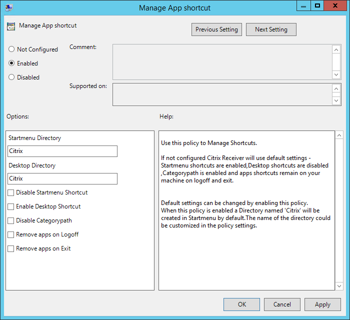 Citrix Receiver 4 2 Startmenu integration | Jan Hendriks Blog