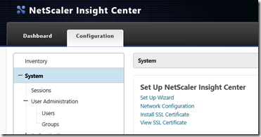 2014-09-10 10_29_14-Citrix NetScaler Insight Center - Configuration - Internet Explorer