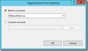 default-app-pool-identity
