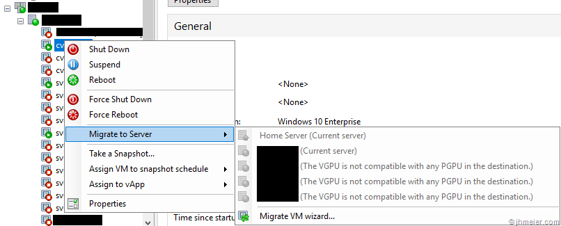 Enable XenServer Live Migration for VMs with a NVIDIA vGPU | Jan