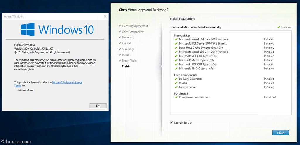 Windows 10 Enterprise for Virtual Desktops (or WVD On-Prem