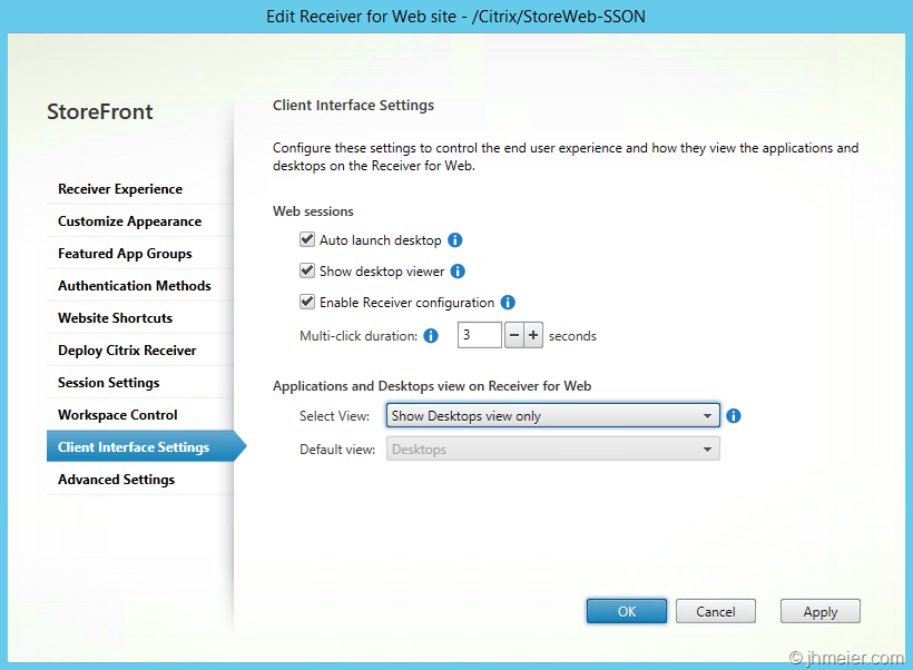 Windows 7 Thin Client Setup